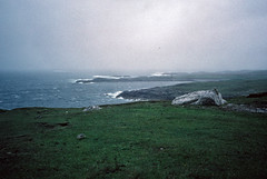 Approaching rain near Islivig, Lewis (1996) (Duncan+Gladys) Tags: uk scotland enhanced isleoflewis rossandcromarty