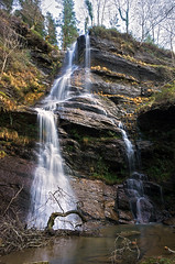 waterfall in Gorbea Natural Park (Mimadeo) Tags: wild motion fall nature water rock river landscape waterfall stream natural scenic cascade gorbea