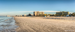 Sirata Beach Resort  Panorama (lpvisuals.com) Tags: ocean sea sky usa beach water tampa unitedstates florida shoreline oceanside fl stpete d800 stpetebeach stpetersburgbeach