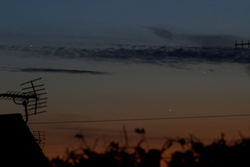 Jupiter, Venus, Mercury Conjunction 24-05-13