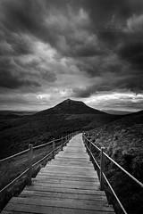 l'ascension (SC-Pictures ) Tags: blackandwhite france nature clouds de landscape noiretblanc nuages paysage marche puy auvergne dme randonne canon1740 canon6d