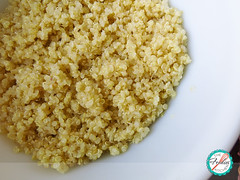 Quinoa and Apple Salad with Curry Dressing (The Foodies' Kitchen) Tags: apple curry dressing quinoa