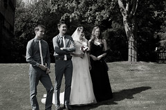 0034thebiedermannkids (PauSmithPhotography) Tags: uk greatbritain wedding zoo scotland edinburgh marriage brideandgroom scottishwedding happyday manorhousezoo