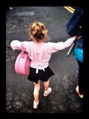 Elsie starts Ballet Class