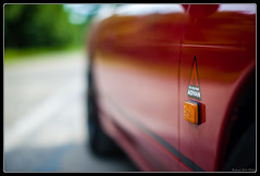 S13 (Maestr!0_0!) Tags: red car wheel sport rouge nissan motor 240 sx nismo s13