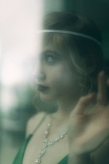 Moonlight Serenade (Liz Osban) Tags: 1920s vintage dress great foggy retro replica moonlight flapper knightley rookie 30s kiera keira serenade knightly 40s 20s gatsby atonement