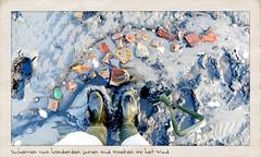 Scherven van honderden jaren oud zoeken op het Wad (Marcel van Gunst) Tags: vlieland mas marcel marcelvangunst vangunst wad scherven gunst aardewerk 2013 steengoed steingut