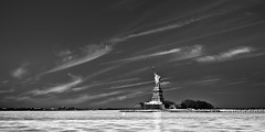 Liberty (glidergoth) Tags: usa ny newyork liberty mono sailing harbour yacht manhattan nj statueofliberty ladyliberty