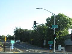 Sacramento, California (Dougtone) Tags: california road sign highway route shield sacramento