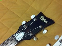 Hofner Beatle Bass 2c (LoxPix) Tags: kent bass guitar workinprogress rick mandolin fender beatle crown custom gibson squire hofner epiphone fernandes teisco bowhunter