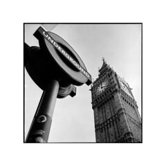 postcard • london, england • 2013 (lem's) Tags: england london rolleiflex big ben metro postcard londres angleterre 35 postale carte planar undergroung