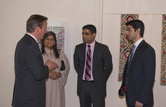 UK Prime Minister, David Cameron meets with senior business delegation in Pakistan (UK in Pakistan) Tags: pakistan visit nationalmonument islamabad davidcameron shakarparian presidentzardari pmnawazsharif