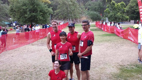 Pasadena Pacers run together