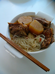 Beef Noodlen 牛肉面 (11楼朝北) Tags: beef homemade noodle roasted beefnoodle 牛肉面 随便做 家里做