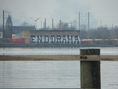 End, Drama (NJphotograffer) Tags: philadelphia graffiti big pennsylvania pa end roller huge philly graff drama dhs