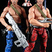 Custom Contra Mad Dog & Scorpion Movie Concept Action Figures