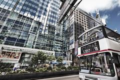 (hsalnat) Tags: street travel bus hongkong transport  kowloon  nathanroad
