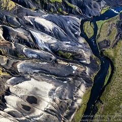 20120709-_MG_0069-Crop-Edit (Gunnar Orn Arnason) Tags: summer abstract nature water landscape iceland sand day air list glaciers form birdseyeview sumar overview dagur fluga lokaverkefni