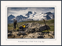 Remembering a Climb From Long Ago (Maclobster) Tags: ice photography pass meadows glacier mount alpine fields wilcox athabasca keithgrajala