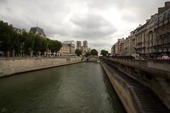 The River Seine (Khalid Zane) Tags: holiday paris france tourism seine river tourist notredame cathdrale notre dame riverseine the cathdralenotredame deparis