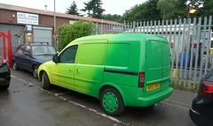 The Abellio Green Bus van (bobsmithgl100) Tags: surrey van vauxhall combo greenbus byfleet hxo abelliosurrey wintersellsroad nv57 nv57hxo