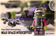 Main presentation of the N.S.I (-Konix-) Tags: lego orion scifi spaceship interceptor moc conflit