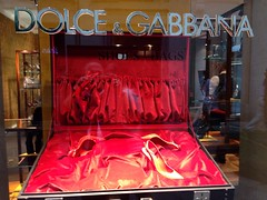 Dolce&gabbana - Milano (attilio.roccavilla) Tags: red colors fashion shoes luxury dolcegabbana uploaded:by=flickrmobile flickriosapp:filter=nofilter