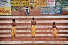 Little Monks grow (Liv ) Tags: flickriosapp:filter=nofilter uploaded:by=flickrmobile india interestingness laivphoto people photo tag1 travel colors nikon square street colours viaggio explorer ganga gange ganges geographic giallo indian ind interesting liv ngi nude orientale planet sacred varana