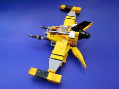BF-19 The Shrike (toms_h@rt) Tags: lego space scifi bomber moc starfighter classicspace