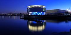 Blue, blue windows (johndecember) Tags: usa wisconsin gallery album lakemichigan milwaukee lakefront 2x1 mke pierwisconsin mke20131010