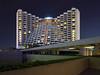 Mandarin Oriental (bing dun (nitewalk)) Tags: longexposure nightphotography marina hotel singapore nightscape pentax mandarin marinasquare tbd mandarinorientalhotel nitewalk blackcardtechnique bingdun