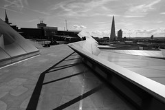 Looking South-East from One New Change, City of London (fabiolug) Tags: leica light shadow sky blackandwhite bw building london monochrome lines skyline architecture clouds contrast buildings blackwhite cityscape shadows view cloudy geometry horizon wide shapes stpauls angles rangefinder wideangle panoramic line vista monochrom southeast shard biancoenero cityoflondon superwideangle 21mm londonskyline londonist panoramicview urbangeometry superwide leica21mm lookingsoutheast londonarchitecture leicam theshard onenewchange superelmar leicasuperelmar21mmf34asph superelmar21mm leicasuperelmar mmonochrom leicammonochrom leicamonochrom superelmar21mmf34asph leicasuperelmar21mm