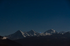 Moonlight Over The Alps (foto-erwin.ch) Tags: alps alpen eiger jungfrau mönch berneroberland dreigestirn