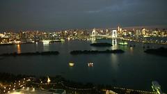 Odaiba View from FujiTV (isriya) Tags: japan view odaiba fujitv