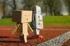 Danborun002 (MeowPawJournals) Tags: fruitsalad danbo metalrobot shinki busoushinki vintagerobot danboard minidanboard minidanbo danboandfriends plasticdanboard
