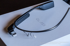 Google Glass Fresh Out Of The Box (flygrl67) Tags: new glass up google high technology tech display explorer internet device headset charcoal heads wearable version2 googleglass