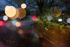 City Lights 82 (pni) Tags: light sea plant tree water sign fence suomi finland restaurant leaf helsinki bokeh pavement multipleexposure citylights bubble helsingfors tlnlahti tripleexposure multiexposure skrubu pni tlviken pekkanikrus