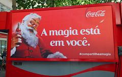 2013 Coca-Cola Santa Claus backlit 01 Rio de Janeiro (roitberg) Tags: christmas natal cola coke noel santaclaus cocacola papainoel coca perrenoel