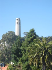 "Coit Tower in San Francisco • <a style=""font-size:0.8em;"" href=""http://www.flickr.com/photos/109120354@N07/11042852174/"" target=""_blank"">View on Flickr</a>"