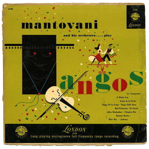 Mantovani and his orchestra… play tangos