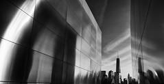 Empty Sky III (Dalliance with Light (Andy Farmer)) Tags: city nyc bw architecture newjersey jerseycity unitedstates worldtradecenter 911 wtc oneworldtrade emptyskymemorial