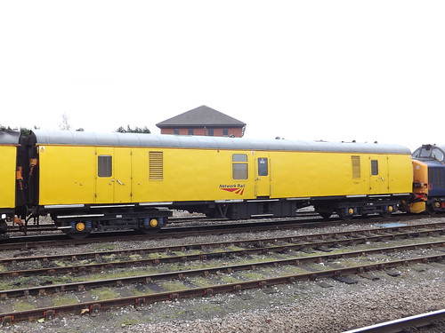 Network Rail Coach at Derby