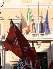 Presidio unitario pensionati a Montecitorio (Spi Cgil Emilia-Romagna) Tags: roma montecitorio pensionati spicgil spicgilemiliaromagna