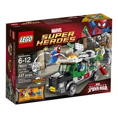 LEGO Marvel 2014 Doc-Ock Truck Ambush (LEGO Toy Story News) Tags: set spider lego marvel sets avengers minifigure 2014 minifigures