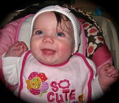 So Cute (K. W. Sanders) Tags: baby cute girl beautiful beauty smile pretty sweet daughter precious laughter
