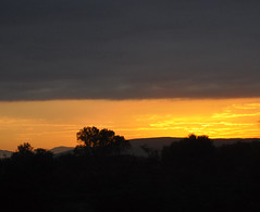 Sun rise in France (lenlysen) Tags: morning france nature rhne rhone earlymornings 2013 lysen lysn