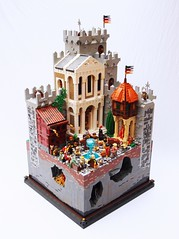 CCCXI Gisellicburg (Mark of Falworth) Tags: city tower castle town lego scene medieval story creation ccc saga moc anselm cccxi