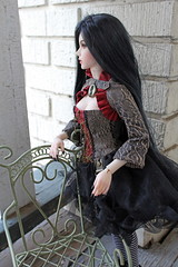 Looking very pensive (Sylvin13) Tags: ns vampire violet demon bjd ih msd jid theaddiction iplehouse normalskin xtremedolls