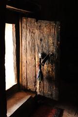 DSC_0525c (EmmySchoorl) Tags: winter india men statue stone trekking trek asia day little buddha prayer praying flags nuns tibet special adventure climbing monastery himalaya desolate mala ladakh petit nunnery gompa nla gonpo himalayawander