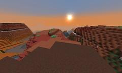 Sunrise on the Mesa (GumbyBlockhead) Tags: orange sunrise survival mesa